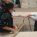 14th Cubs Scouts - Bridge building