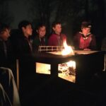 Campfire after supper (with some superb campfire songs!)